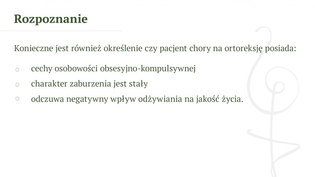 Orthoreksia-rozpoznanie -Psychodietetyk Gdańsk